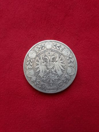 Moneda 5 korona austro-ungaria 1900