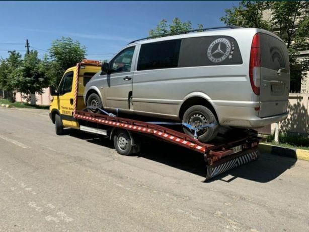 Tractari auto/ transport marfa/ moluz in saci / platforma auto