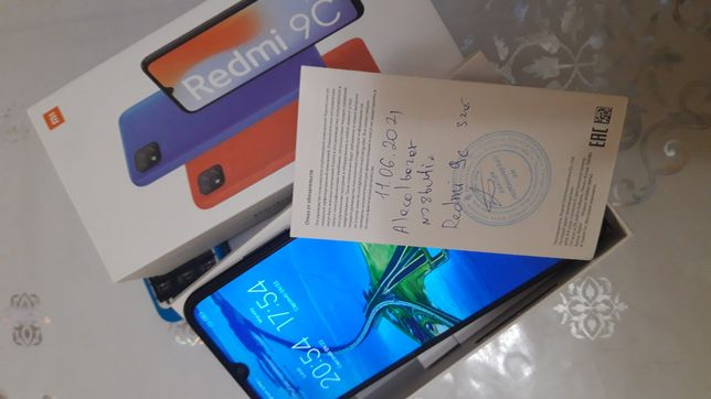 Продам смартфон Redmi 9C