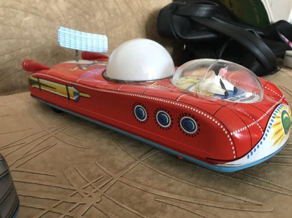 Стара играчка луноход 1960-70 г. ( Holdauto INTERKOZMOSZ )