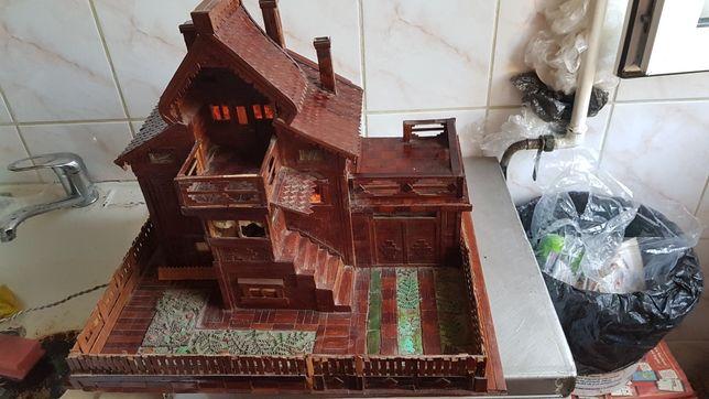 Macheta lemn casa