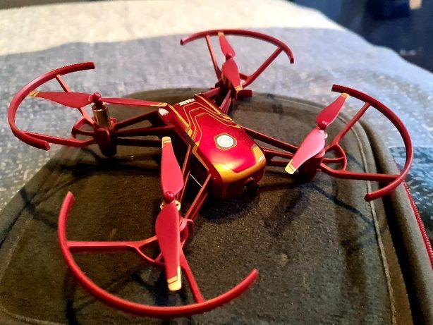 Drona DJI Tello Iron Man + 1 baterie de rezerva + geanta de transport