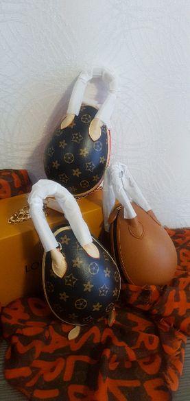 """Луксозна чанта """"Louis Vuitton"""" тип яйце"""