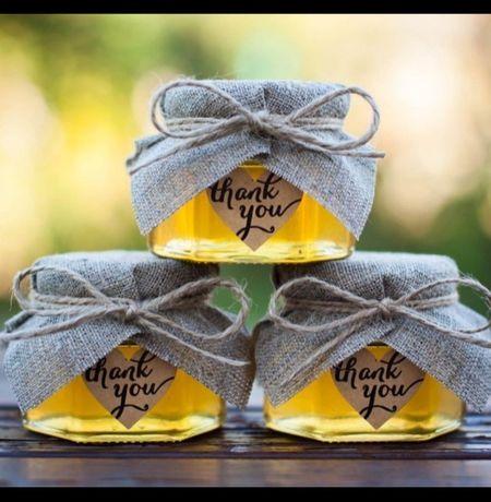 Тойбастар мёд баночках медовые бонбоньерки