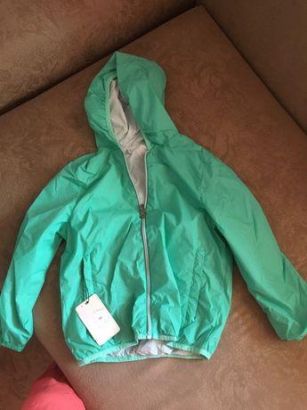 Двусторонняя детская куртка!