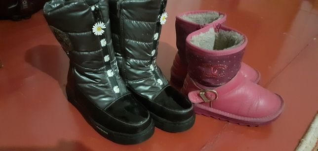 Обувь зимняя на девочку