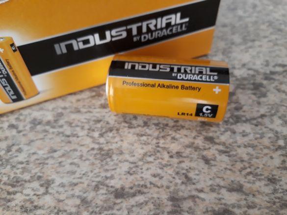 Батерия DURACELL Industrial, размер С, 10 бр.