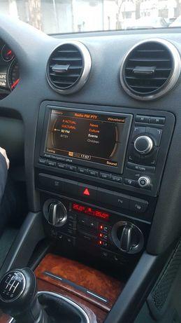 Navigatie Audi A3/A4 RNS-E PU(MK2) cu dvd hărți și cablu Aux