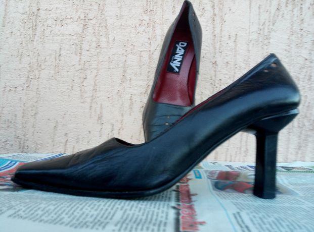 Кожаные удобные туфли