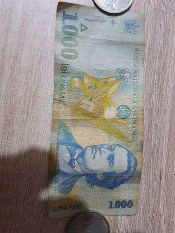 Bancnota 1000 lei serie: 006A anul 1998