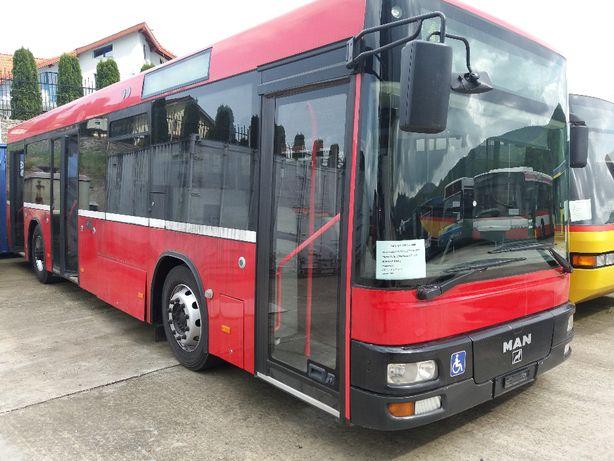 Autobuz MAN – an fabricatie 2005