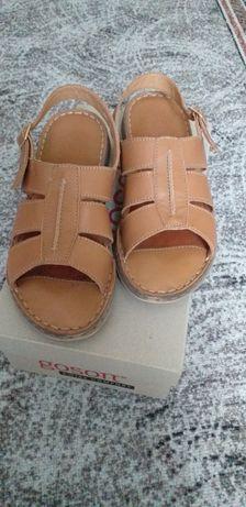 Sandale femei piele