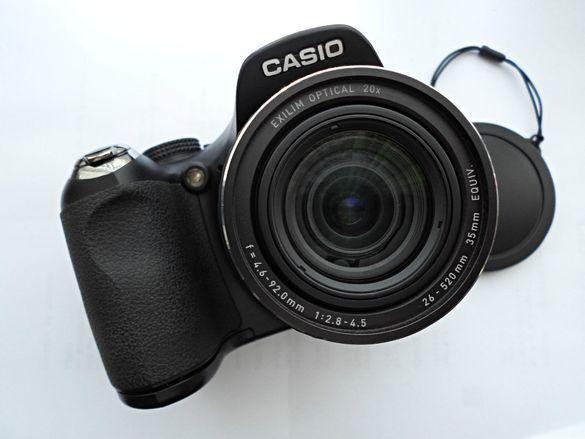 Фотоапарат Casio EXILIM FH20 - 40 кадъра в секунда.