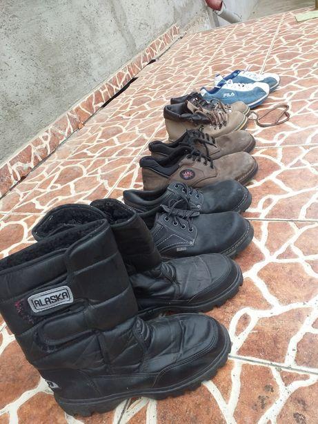 Bocanci cizme piele