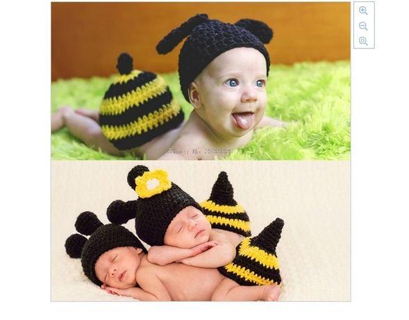 Costum bebelusi crosetat catel/albina/iepure sedinte foto,botez