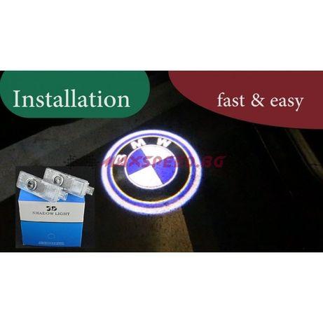 BMW LED Подсветка За Врата 2 Броя Комплект