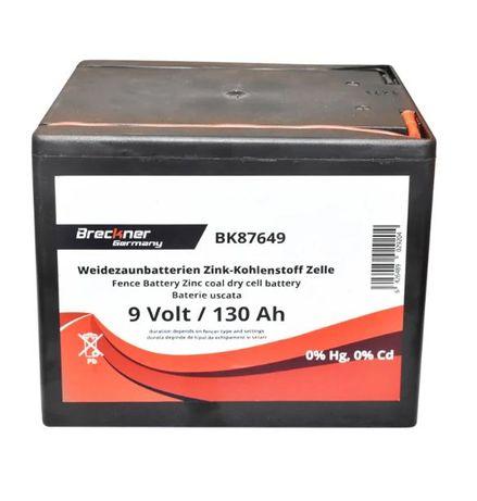 Baterie uscata 9V 130Ah pt gard electric Breckner nou Agramix