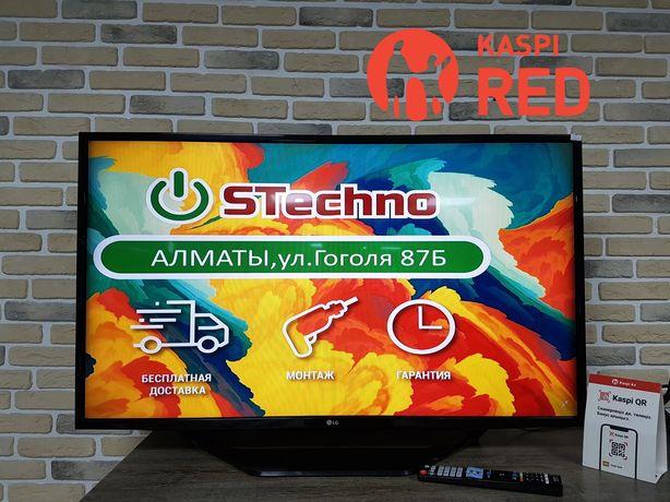 Тв Smart Full HD 109 см LG 43LH590V Рассрочка KASPI RED!Гарантия год!