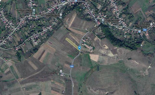 Vand teren intravilan in sat Deușu, com. Chinteni