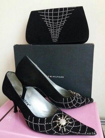 Коктейльный набор сумка и туфли.