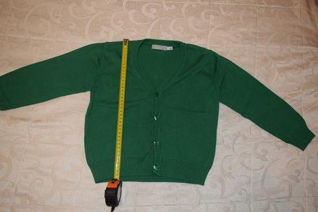 pulover cochet cu nasturi - sfiteras copii 3-4 ani