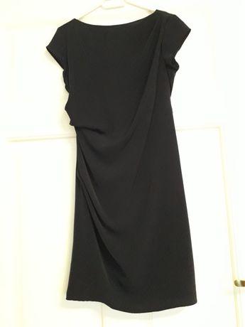 Vand rochie albastra, material fin, scurta