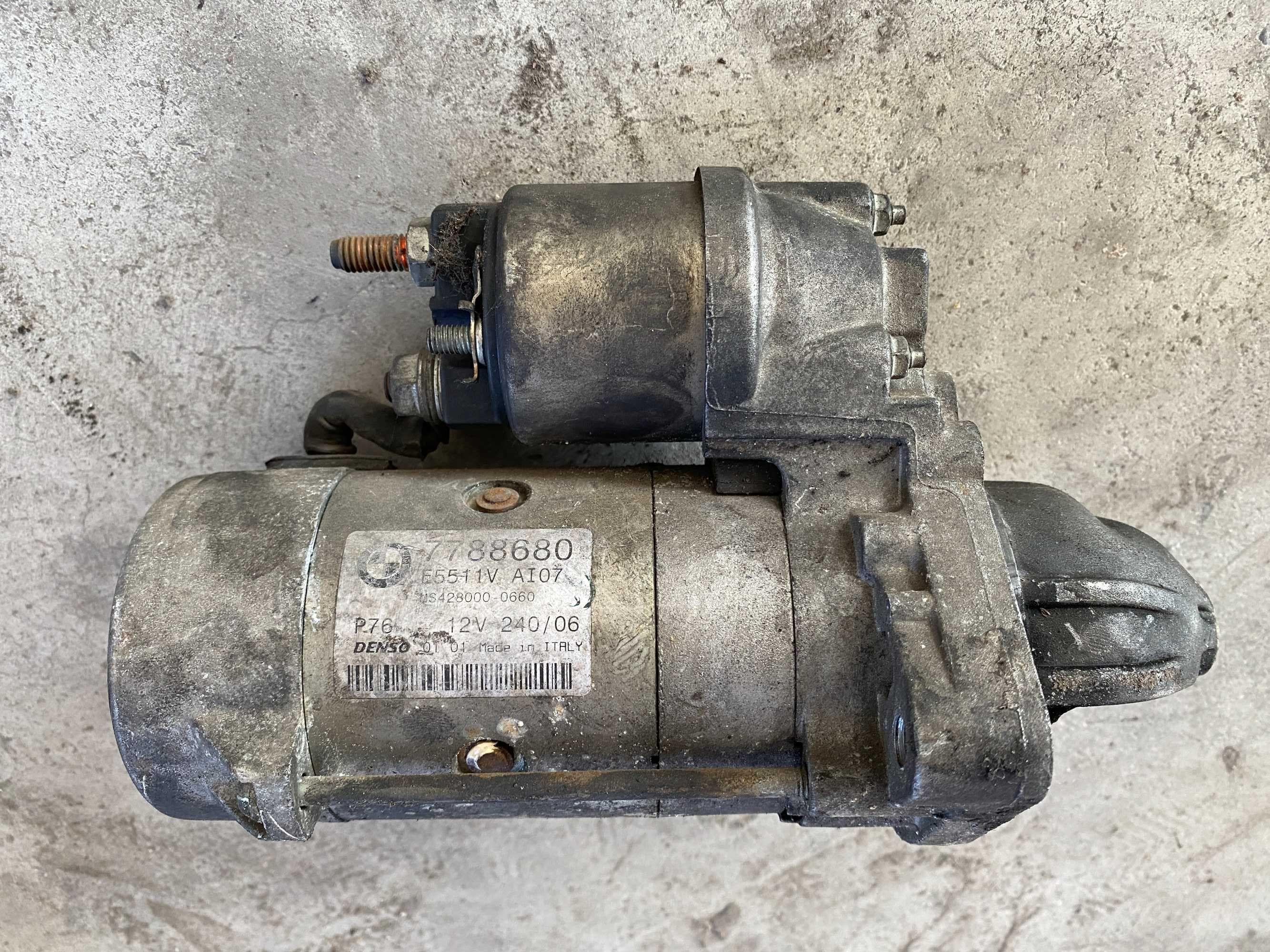 Стартер  - /БМВ/BMW/ - /е53 /x5/ - M57- 3.0D - 218кс.