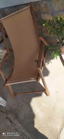 Шезлонг, градински стол