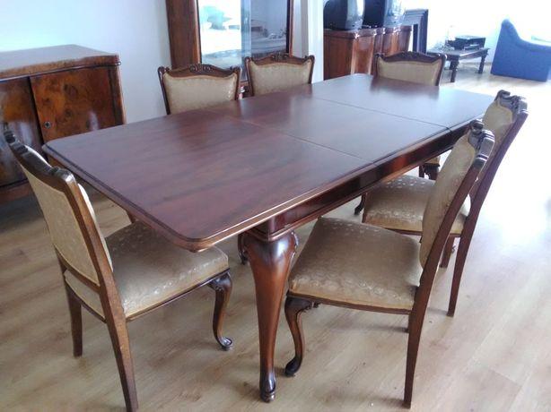 Set Neobaroc masă+6 scaune