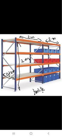 Rafturi metalice profesionale reglabile stoc super ofertă