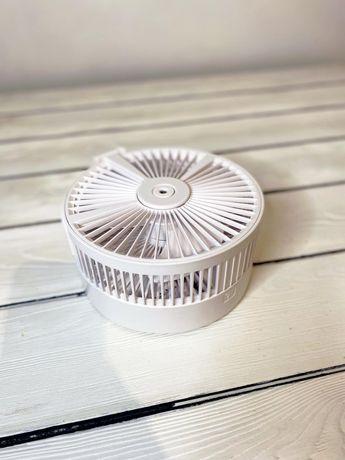Беспроводной бесшумный вентилятор с увлажнителем воздуха!