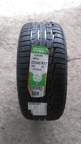 Нови зимни гуми R17 225/45 Nokian WRA3 94V M+S Extra Load с борд