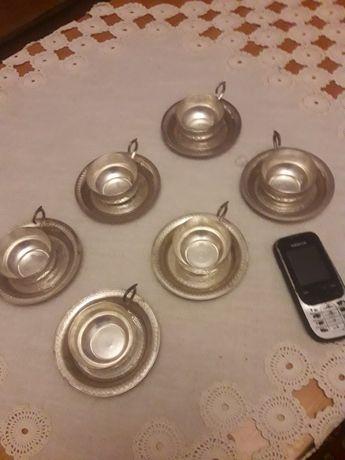 Сребърен , арабски сервиз за кафе