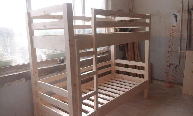 TRANSPORT GRATUIT.Pat etajat din lemn masiv cod 2021