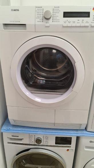 Сушилня за дрехи AEG Lavatherm T86580IH3 бяла А+++ 8кг.