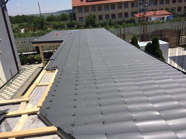 Reparatii acoperis - tigla metalica - dulgherie - tigla ceramica