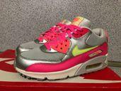 ОРИГИНАЛНИ *** Nike Air Max 90 Mesh / Pink Grey Green White