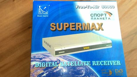 Продам спутниковый ресивер(приставку) SUPERRMAX Free-To-Air S9900
