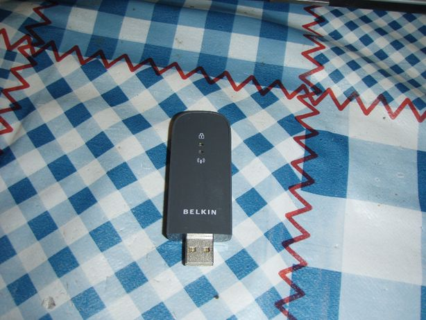 Adaptor wifi USB, Belkin Play Wireless F7D4101 v1, 300 Mbps 2.4/5Ghz