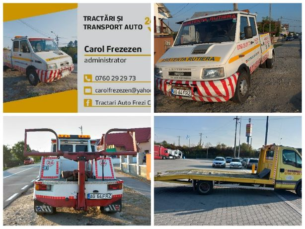 Tractari / Transport /Turisme,Dubite,Tractorase,Utilaje,Marfa diversa