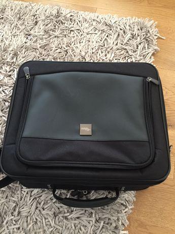 Geanta laptop /tableta culoare neagra tip postas Fujitsu Siemens pt 2