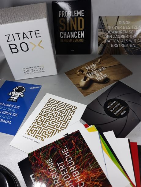 Carți poștale vederi Citate în germană 200 piese original