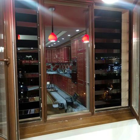 Прозрачные решетки на окна.