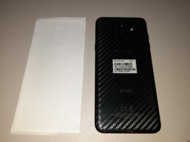 Folie carbon spate Samsung A6+ / plus