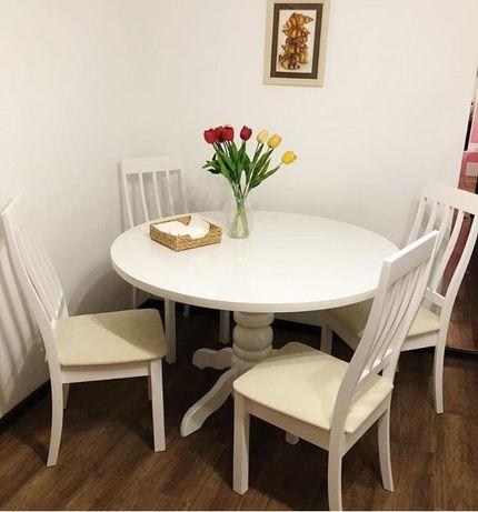 Столы круглые, овальные, раздвижные и стулья на заказ