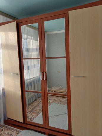 Шкаф сары коныр тус 40 мын тенге мкр молодежный