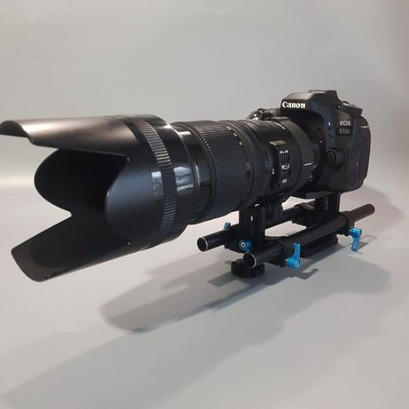 Rig DSLR Canon Nikon pt. Follow focus, matebox, obiective FOTGA DP500