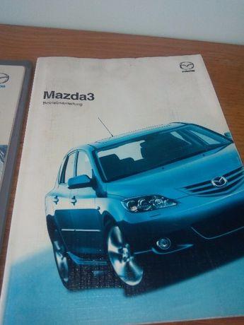 Книга сервизно ръководство и части за мазда 3 / mazda