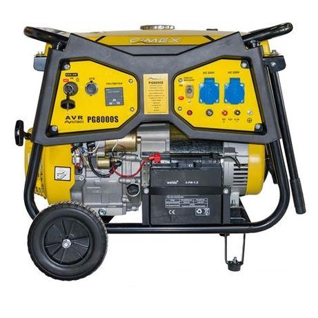 ПРОМО! ТОП! Авариен генератор за ток 6.5 kW, AVR, ATS -CIMEX PG8000ATS