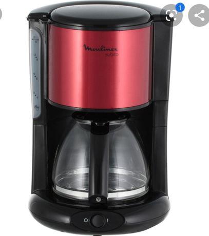 Кофеварка Moulinex Subito FG360D10, Black-Red